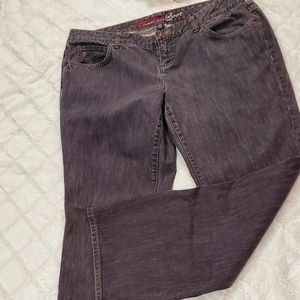 Tommy Hilfiger Black Freedom Boot Cut Jeans